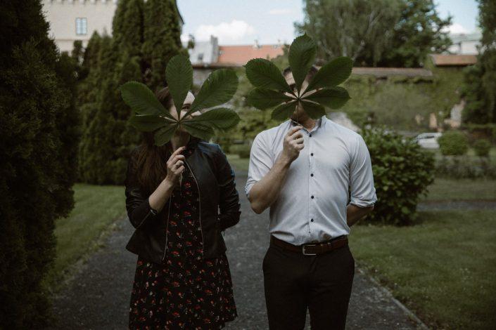 Meg i Bartek | Sesja narzeczeńska w Ogrodzie Muzeum Archeologicznego | Fotograf ślubny Kraków